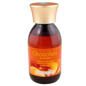 aceite de chocolate para masaje